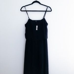 Madewell New Camisole Overlay Silk Slip Dress